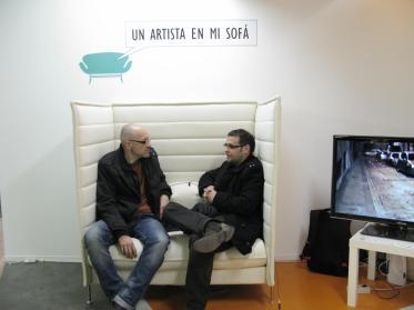 Un artista en mi sofa_Santiago Idañez_Paco Pomet